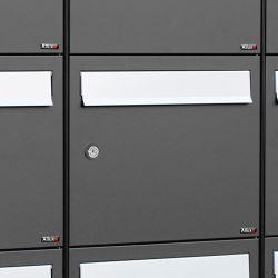 Postkastsysteem Allux Flow - antraciet