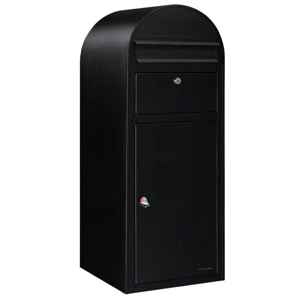 Bobi Cargo pakketbrievenbus zwart