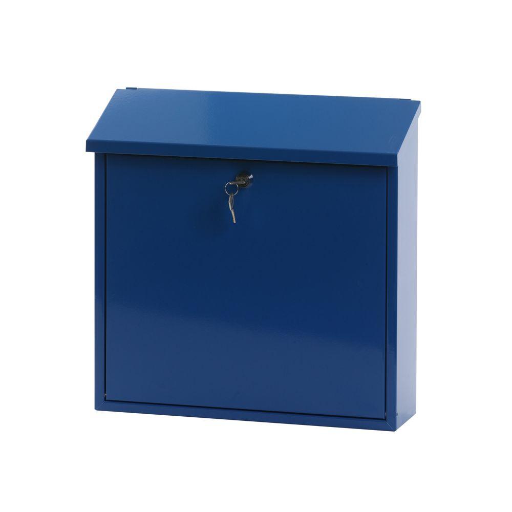 Basic wandbrievenbus Malagan - Blauw