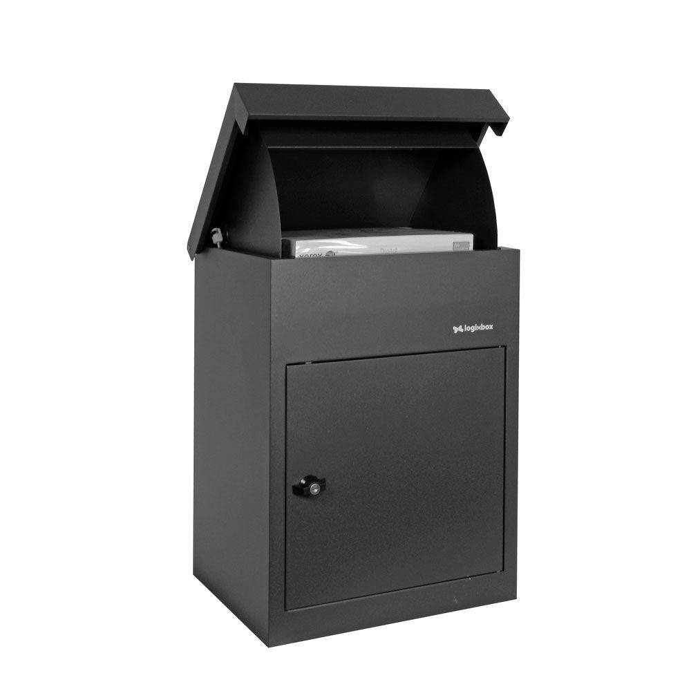 Pakketbrievenbus Logixbox Multibox-S grijs