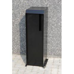 Geroba vrijstaande brievenbus Kortu - Zwart