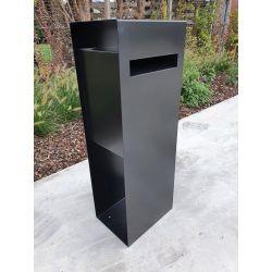 Geroba vrijstaande brievenbus Verma - Zwart