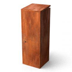 Geroba pakketbrievenbus Collu - Cortenstaal