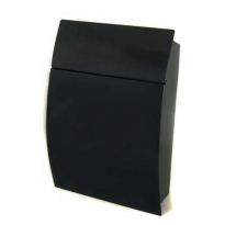 Brievenbus Tweed - zwart