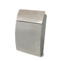 Brievenbus Tweed - zilvergrijs