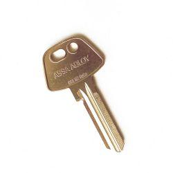 Losse blanco sleutel Ruko 6-pin 600RS