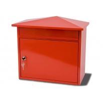 Brievenbus Mersey - rood