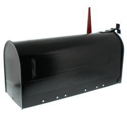 Amerikaanse brievenbus US Mailbox - aluminium zwart