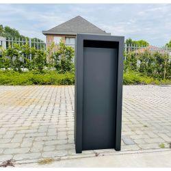 Geroba vrijstaande brievenbus Litru - Zwart