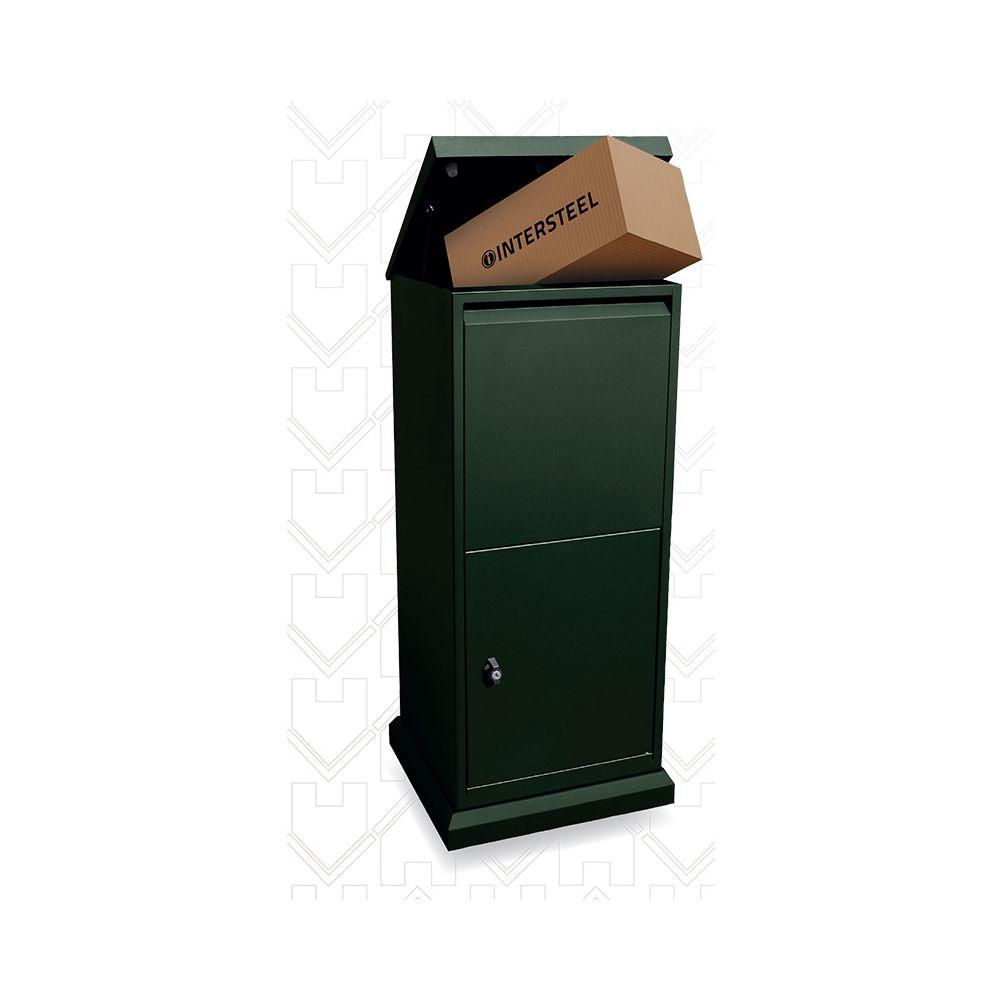 Intersteel pakket postkast - donkergroen
