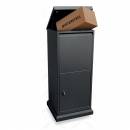 Intersteel pakket postkast - mat zwart