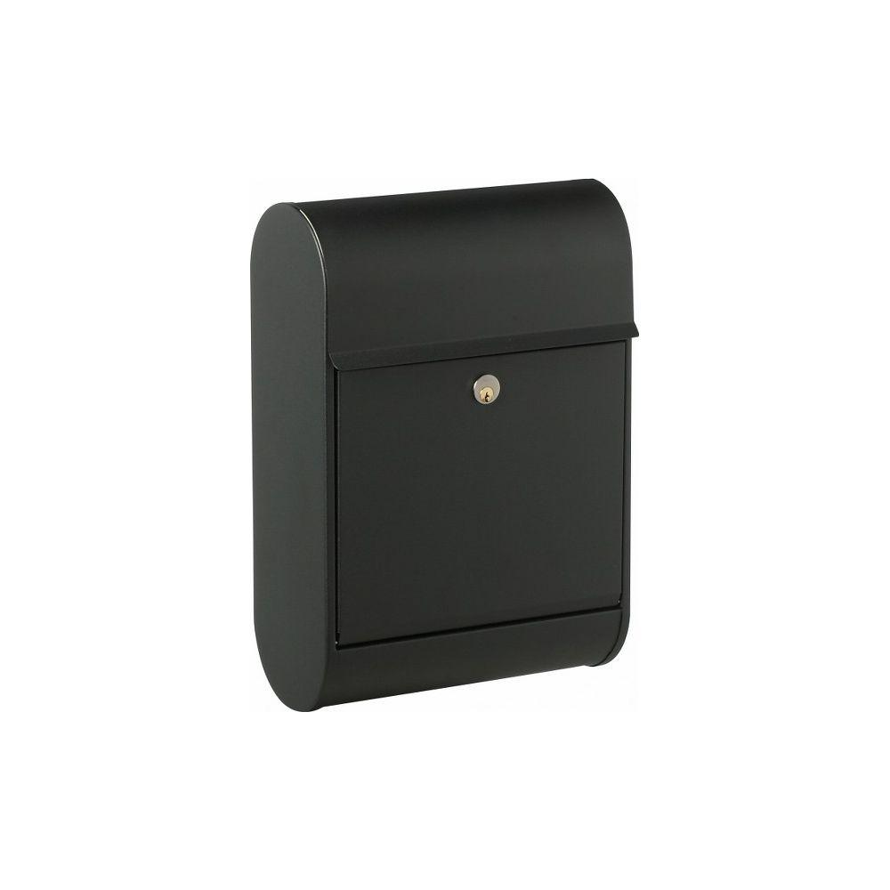Brievenbus Allux 8900 zwart
