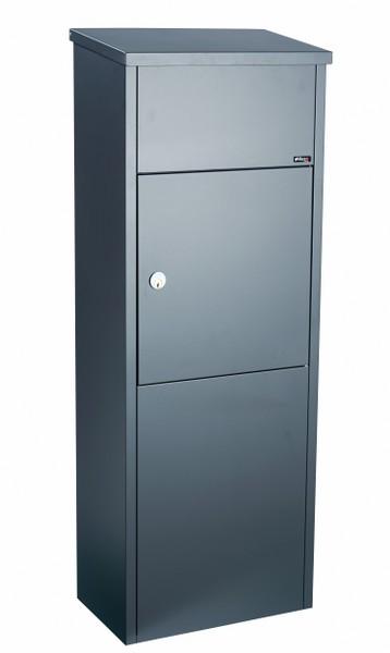 Pakketbrievenbus Allux 600 antraciet