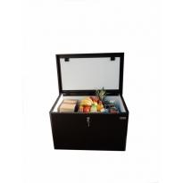 Pakketbox Logixbox Topbox-ISO grijs