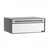 Systeembrievenbus Allux PC2 voor/achter alumiumgrijs RAL9006