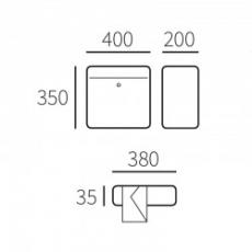 Systeembrievenbus Allux SC200 voor/voor