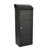 Pakketbrievenbus Allux 820 zwart