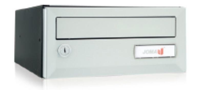 Joma brievenbussysteem Artico Push H275