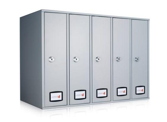 Joma AZ90 bovenlader brievenbussen (module 5 stuks)