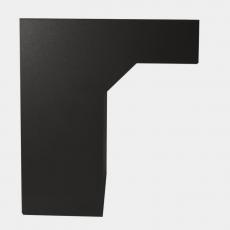 STOER! Flexibele postinbouwkast zwart 40-55cm